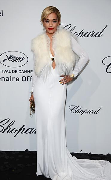 At The Chopard Mystere party at Cannes this May