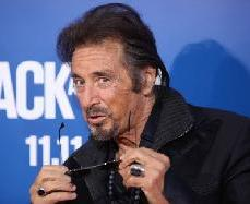 Al Pacino strikes a pose at the Los Angeles premiere of 'Jack And Jill' in Westwood, Calif., on November 6, 2011 -- FilmMagic