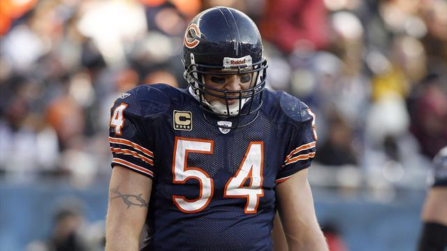 American Football - Bears linebacker Urlacher retires after 13 seasons