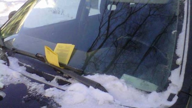 Woman avoids parking ticket pain.