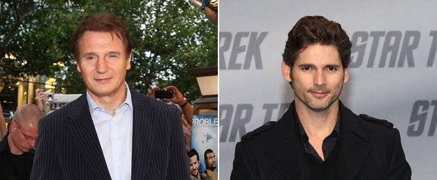 Cross Liam Neeson (left) and Eric Bana (right) and you might get Benjamin Walker. (Yahoo! Movies stills)