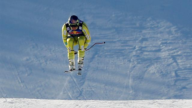 Alpine Skiing - Svindal quickest again in Kitzbuehel
