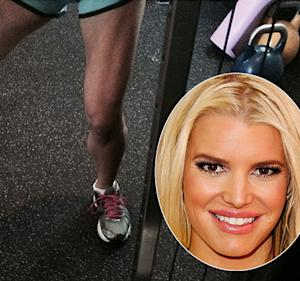 """Jessica Simpson """"Proud"""" of Her Killer Legs During Workout: See the Incredible Picture"""