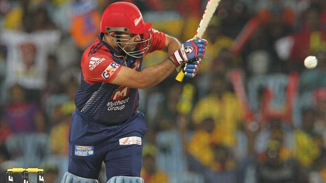 Cricket - Imperious Sehwag leads Delhi to first IPL win, Miller stuns Pune