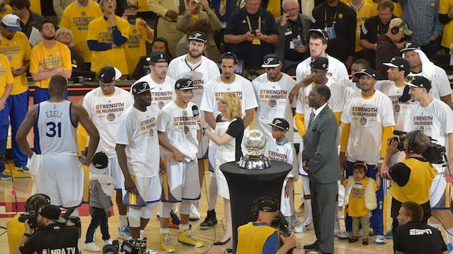 Golden State Warriors match expectations by reaching NBA Finals with just three defeats