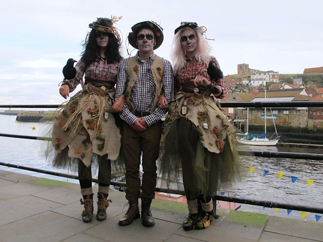 Whitby Goth Weekend November 2012