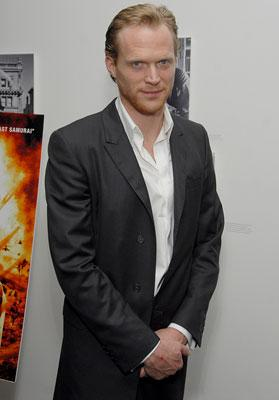 Paul Bettany at the New York premiere of Warner Bros. Blood Diamond