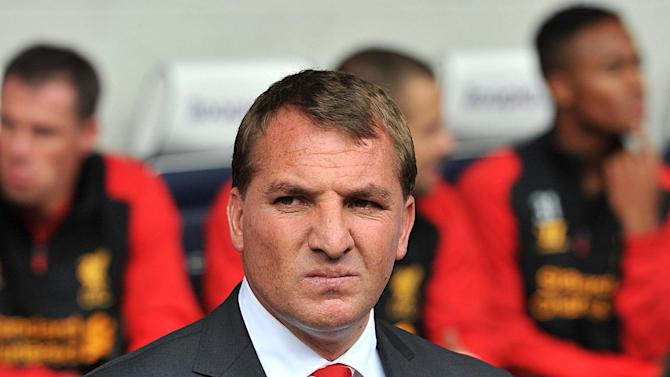 Brendan Rodgers, pictured, has allowed Andy Carroll to join West ham