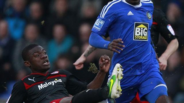 Football - County sign Cardiff defender