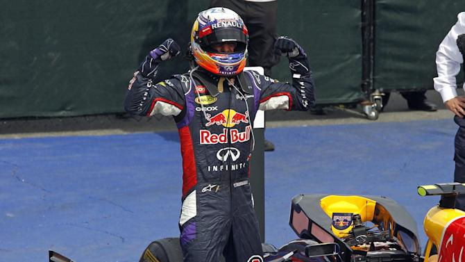 Formula 1 - Ricciardo takes dramatic maiden win in Canada