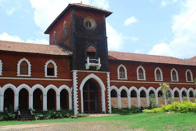 The palace at Sawantwadi in Sindhudurg district of Maharashtra