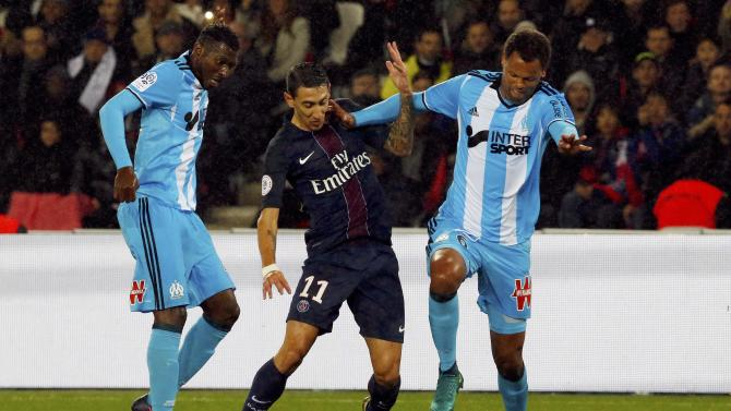 Football Soccer - Paris St Germain v Olympique Marseille - French Ligue 1