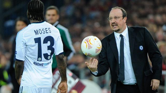 Europa League - Benitez relieved after last-gasp win
