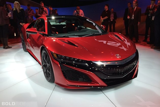 10 Years Of Waiting Plus Another Three Teasing And Finally Acura Drops The Curtain On All New Nsx In Detroit