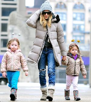 Sarah Jessica Parker's Twin Daughters, 3, Wear Antennae Headbands in Adorable Picture