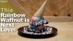 This rainbow waffnut is next level