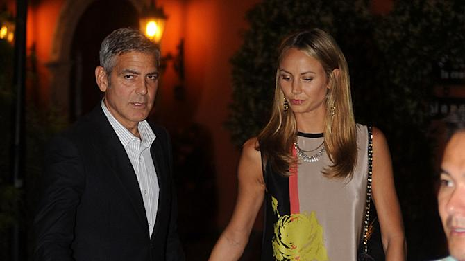 George Clooney Stacey Keibler