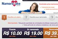 Buy a fake girlfriend You needn't worry if you feel lonely this Valentine's Day, but don't have time to find a date. In this digital world, a real person is no longer a prerequisite for a fleeting romance. NamoroFake.com, a Brazilian site with a catalogue of Facebook profiles for lease, can set you up with the virtual girl of your dreams, giving your social media ego a bit of a boost. The site's package deals include daily comments on your Facebook timeline and, in the case of those committed, 30-day affairs, the obligatory relationship status change. If you're just looking for a fling, that's not a problem. The site offers a 3-day package for those just looking to test the strange waters of fraudulent, online dating. But if you have $39.00 to spare, you can make your real ex-girlfriend jealous for all of Valentine's week with glimpses of your exotic, albeit ersatz, paramour.