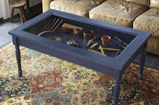 Shadowbox Display Coffee Table