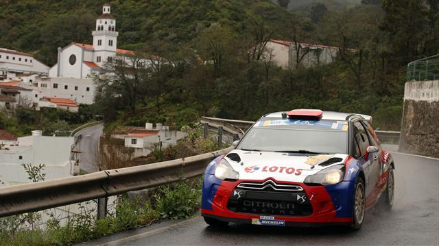 ERC - Kubica forced out in Canaries as Kopecky wins again