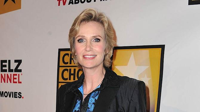 Jane Lynch TV Critics Awards