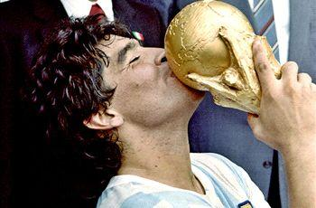Maradona: Argentina will win the World Cup