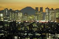 The Tokyo skyline. More than a quarter of Japanese in their twenties have thought about taking their own life, according to a survey released Wednesday, in a nation with one of the world's highest suicide rates