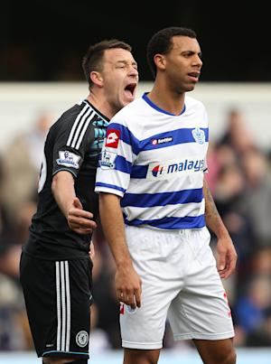 John Terry (left) and Anton Ferdinand (right)