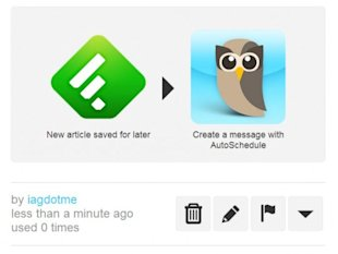 5 Ways to Turbo Boost your RSS with Feedly and IFTTT image feedly hootsuite 540x4051