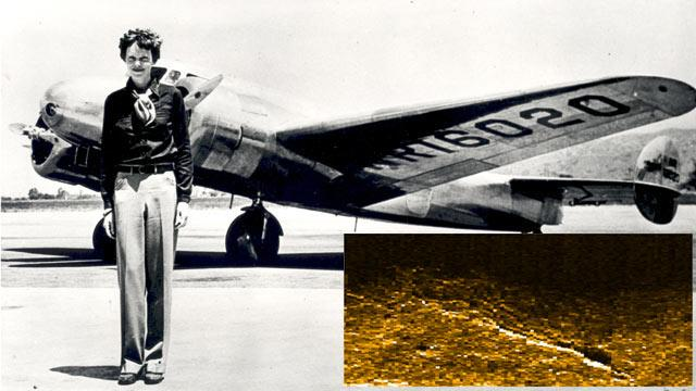 Amelia Earhart Plane Wreckage Spotted in Sonar Image, Expert Suggests