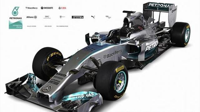 Formula 1 - Mercedes launches its 2014 car with special Schumacher message