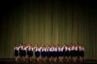 In this April 14, 2011 photo, a children's choir performs in Pyongyang, North Korea. (AP Photo/David Guttenfelder)