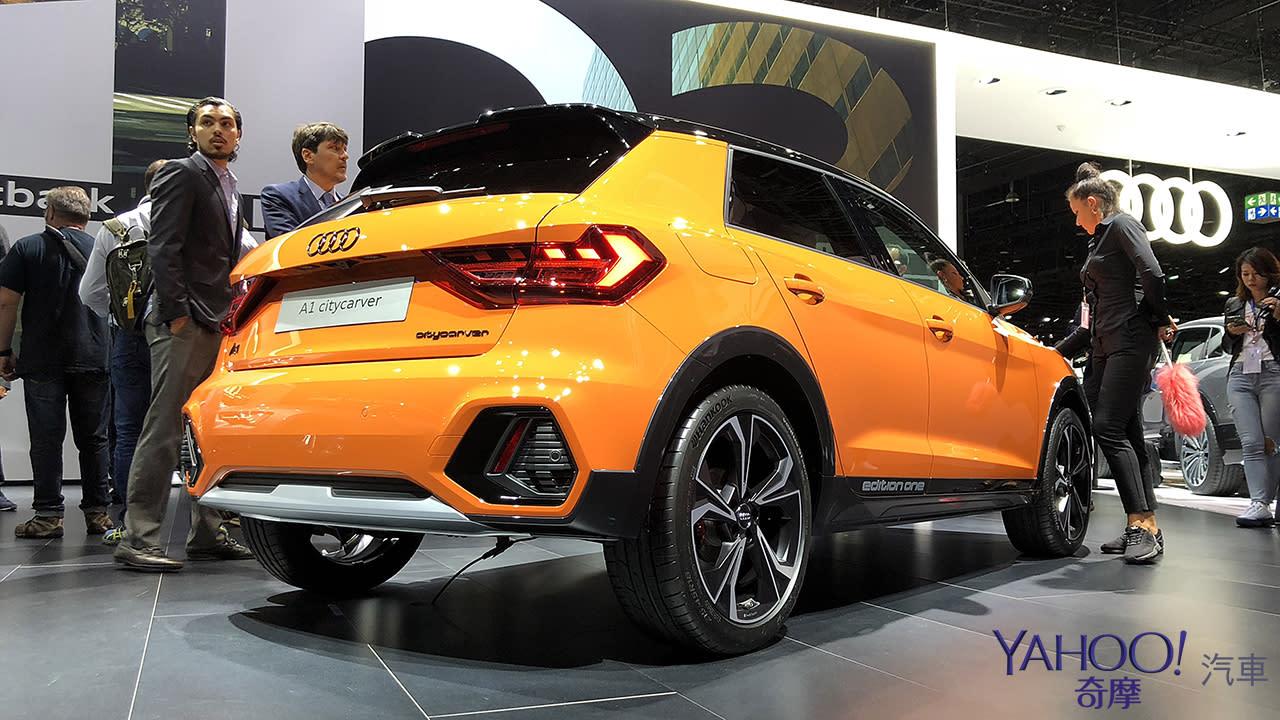 【新車圖輯】還沒引進就又推出新車型!超外向的迷你新成員Audi A1 Citycarver發表