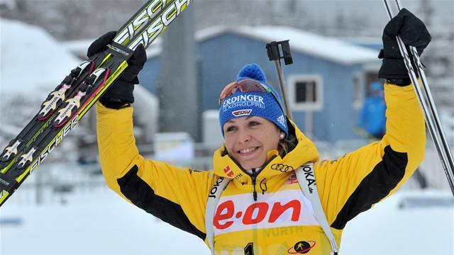 Biathlon - Back-to-back wins for Neuner