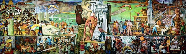The best underexplored art treasure in the city news for Diego rivera famous mural