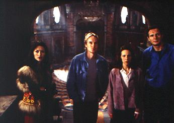 Catherine Zeta-Jones , Owen Wilson , Lili Taylor and Liam Neeson in The Haunting