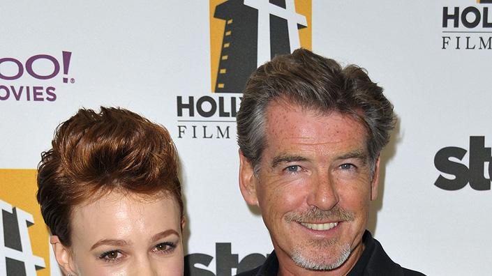 13th Annual Hollywood Awards Gala 2009 Carey Mulligan Pierce Brosnan