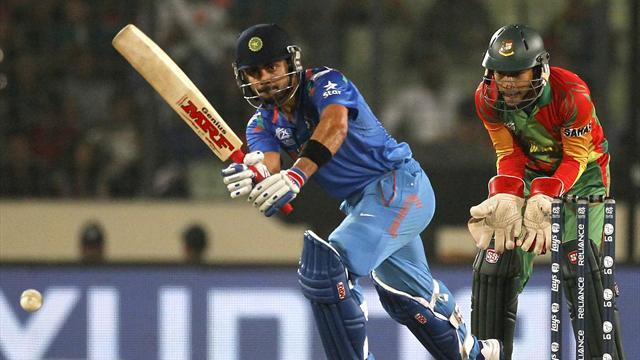 Cricket - India reach semis after thumping Bangladesh