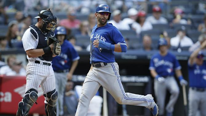 Blue Jays win 1st series in Bronx in 2 years