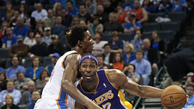 Los Angeles Lakers v Oklahoma City Thunder