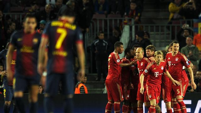 Champions League - Bayern trounce Barcelona again to reach final