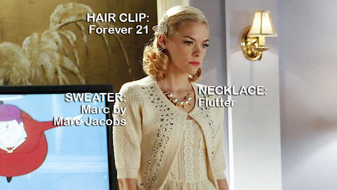 """Jaime King as Lemon Breeland in the Season 1 episode """"The Undead & the Unsaid."""" Hart of Dixie"""