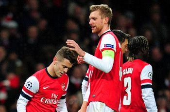 Arsenal do not deserve to be in the top three, says Mertesacker