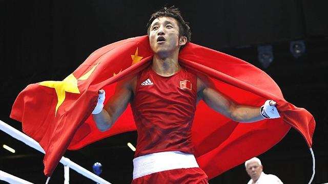 Boxing - Shiming on course for first world title shot after maiden KO