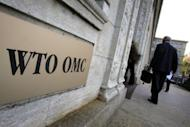 The World Trade Organisation (WTO) headquarters in Geneva. The US has filed WTO complaints over Chinese duties on imported American cars and Beijing's export controls on rare earths -- lucrative minerals widely used in the making of high-tech products including the iPad