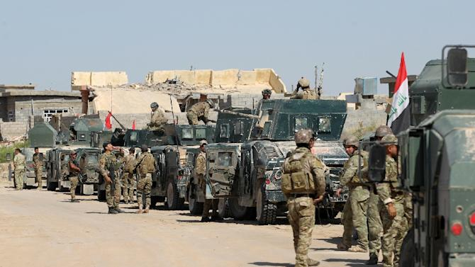 Tens of thousands of Iraqi forces launched an offensive to retake Fallujah, one of only two major Iraqi cities still controlled by IS
