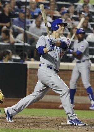Rizzo homers, Marmol and Cubs hold off Mets 8-7