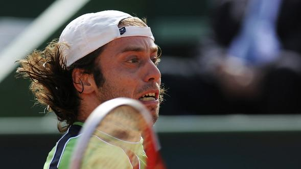 Paolo Lorenzi Of Italy Returns AFP/Getty Images