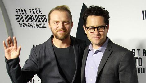 Simon Pegg thinks Star Trek could move to the UK.