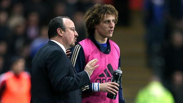 Europa League - Luiz: Chelsea better off with Benitez